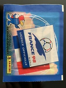 Panini France 98 World Cup Sticker Pack Packet Unopened Sealed 1998