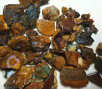 Australian Boulder opal rough Koroit great colour Parcel 580 cts lapidary BRMAR3