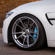 """21"""" HRE FF04 SILVER CONCAVE FORGED WHEELS RIMS FITS BMW F10 528 535 550"""