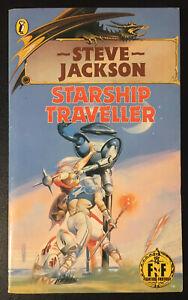 STARSHIP TRAVELLER Fighting Fantasy #4 1st/17th Bronze Dragon Unnumbered VG