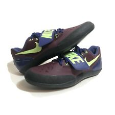 NIKE MENS TRACK AND FIELD (SHOT PUT/DISCUS) SHOES 685131-600 SIZE 11