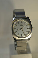 """Pallas"" Adora ~17J Rare cal.DuRoWe7420(Int) Circa1972's German Men's Wristwatch"