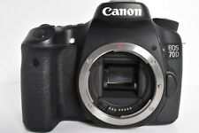 Canon EOS 70D 20.2MP Digital SLR Camera Black Body w/charger 【Exc+++】