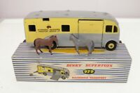 Dinky #979 - Racehorse Transporter - Grey/Yellow - B/B