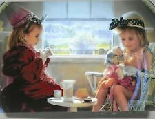 Greg Olsen plate Remember When #2 Tea Party mint cert box