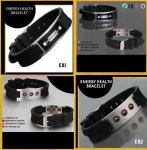 Negative Ion / Power Energy  Magnetic  Bracelet  EMF PROTECTION &  5G Blocker