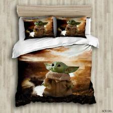 Star Wars: Baby Yoda 3PCS Bedding Set Duvet Cover Pillowcases Comforter Cover