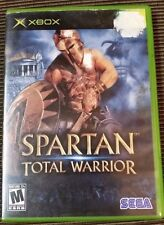 Spartan: Total Warrior (Microsoft Xbox, 2005) Complete TESTED Works