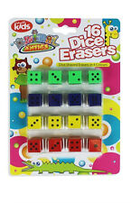 Animal Antics Pack of 16 Dice Erasers Rubbers by Royle Kids Party Gift Loot Bags