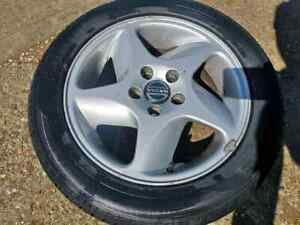 VOLVO 850 T5 Standard Alloy Wheel with bad tyre