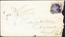 New Jersey -  1869 Issue # 114 Small Town Cover Malaga Gloucester County Scarce!