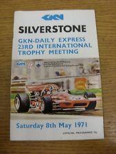 08/05/1971 Motor Racing Programme: At Silverstone, Daily Express/GKN 23nd Intern