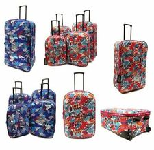 Soft Expandable Unisex Adult 60-100L Suitcases