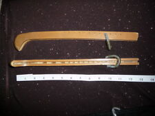 Plastic guards for Ice Figure Skates Size Youth one set Light Brown