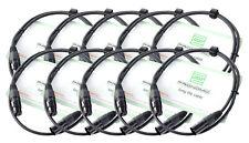 30839 - Pronomic Stage Xfxm-1 cable Micrófono XLR 1 m negro set 10 X