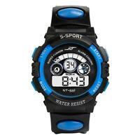 Mens Boy's Waterproof Watch Digital LED Quartz Alarm Date Sports Wrist Watches
