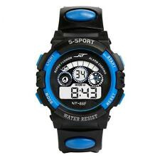 Mens Boy's Waterproof Watch Digital LED Quartz Alarm Date Sports Wrist Watches