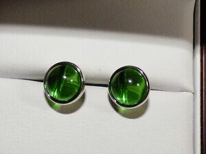 Green Colombian Amber Earrings BN