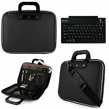 "Sumaclife Leather Tablet Shoulder Bag Case For 12.9"" iPad Pro+ Wireless Keyboard"
