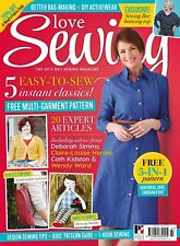 Love Sewing Issue 27 Magazine With 5 in 1 Wardrobe Builder Pattern Sew