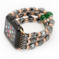 Fashion Beaded Jewelry Bracelet Strap Band For Apple Watch Series 2/1 38mm/42mm