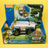 PAW Patrol Dog Tracker Jungle cruiser Rescue Jeep Nickelodeon Model Car Kids Toy