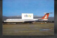 LAM LINEAS AEREAS DE MOCAMBIQUE IL-62M #C9-BAE GENEVA POSTCARD