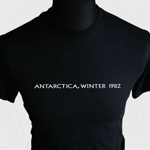 Antartica Winter 1982 T Shirt Retro Horror Movie The Thing Sci Fi Vintage 80's
