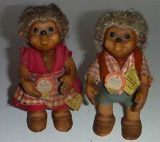 Macki & Mucki,Figur,Puppe,Steif,Mecki,Reklame,Werbung,um 1950,Klassiker !