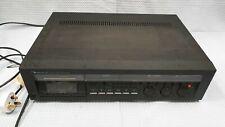 NAKAMICHI 582 3 Heads Cassette Tape Deck Recorder Black UK Plug #110