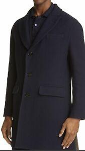 Brunello Cucinelli Wool/cashmere Twill Top Coat. 54/44. $7495