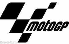 Sticker Autocollant MOTO GP - Vinyl brillant couleur au choix