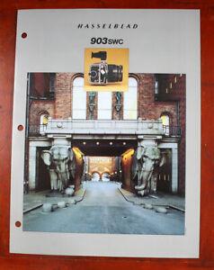 HASSELBLAD 903SWC SALES BROCHURE, 1993/206503