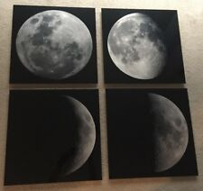 """NEW Peter Lik Moon Phase (Set of Four) Elements 9.75"""" x 9.75"""" Each Squared Lik2"""