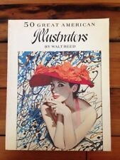 Walt Reed 50 Great American Illustrators Oversized Color Softcover Artabras