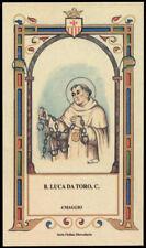 santino-holy card B.LUCA DA TORO mercedario