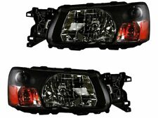 For 2003-2004 Subaru Forester Headlight Assembly Set 84449Tk Headlight Assembly (Fits: Subaru)