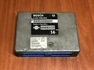 Nissan Micra 1.0 40 Kw Petrol Engine Control Unit Bosch 23710 99b60 0261200965