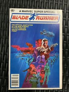 Blade Runner Marvel Comics Super Special #22 1982 VF+