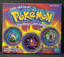 Beadshine Pokemon Battling Coin Game Hasbro 1999 Farfetch'd Slowpoke Butterfree
