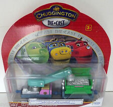 Chuggington Die-Cast Irving's Rubbish and Recycling Cars (Last 4) DISCOUNTED