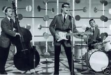 Buddy Holly and The Cricket on Stage 10x8 Photo