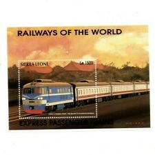 VINTAGE CLASSICS - Sierra Leone 1853P - Trains - Souvenir Sheet - MNH