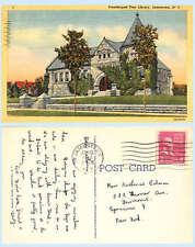 Prendergast Free Library Jamestown New York 1937 Teich Postcard Architecture