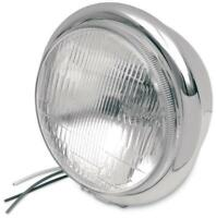 Drag Specialties 5 3/4in. Chrome Headlight Assembly DS-280035