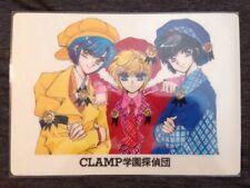 Clamp School Detectives Rare Manga Style Shitajiki