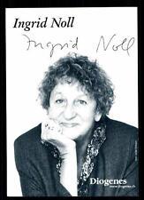 Ingrid Noll AUTOGRAFO MAPPA ORIGINALE FIRMATO # BC 63188