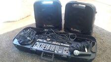 Peavey Escort 2000 speakers and set