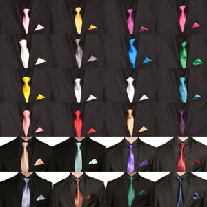 NEU !!! Krawatten mit Einstecktuch z.b in Anthrazit, viele weitere Farben.