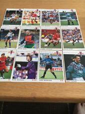 12 PANINI FOOTBALL 1992 FIGURINE come nella foto